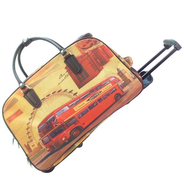 Дорожная сумка на колёсах. 1801 london bus