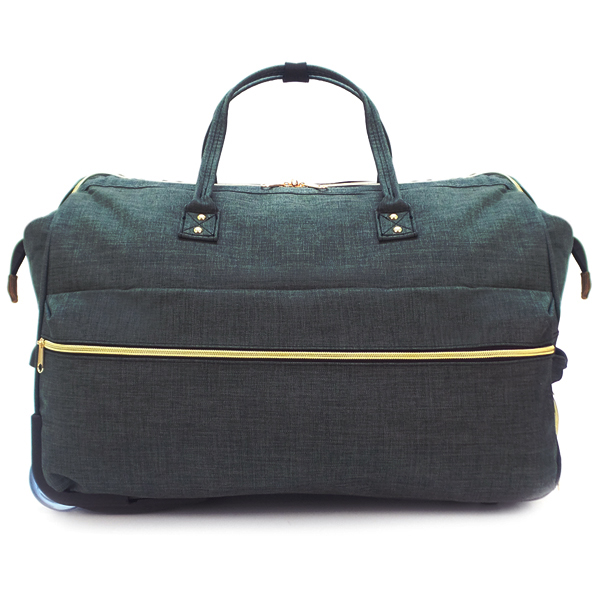 Дорожная сумка на колёсах Borgo Antico. 189 1 black