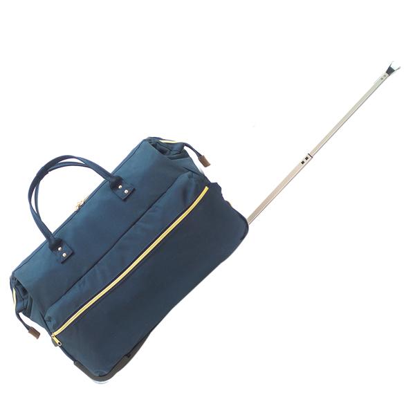 Дорожная сумка на колёсах Borgo Antico. 189 blue n