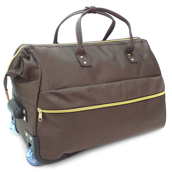 Дорожная сумка на колёсах Borgo Antico. 189 brown