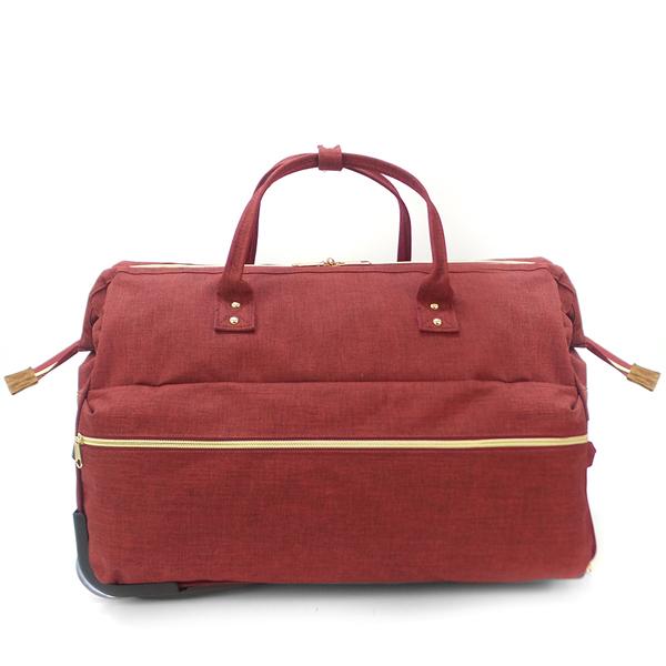 Дорожная сумка на колёсах Borgo Antico. 189 red