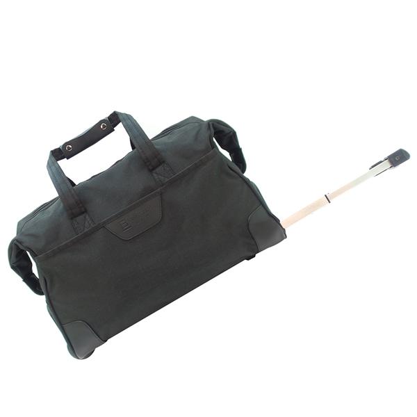 Дорожная сумка на колёсах. 30204 black