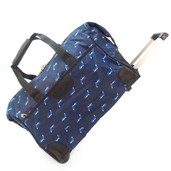 Дорожная сумка на колёсах. 30204 blue fox