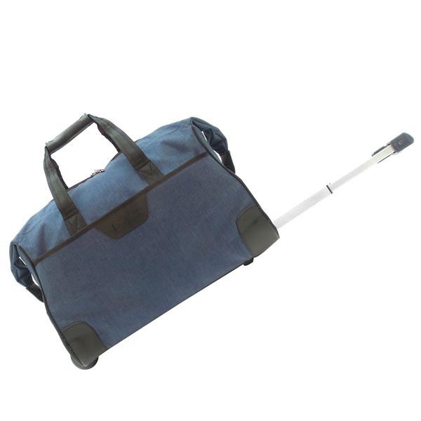 Дорожная сумка на колесах. 30204 blue