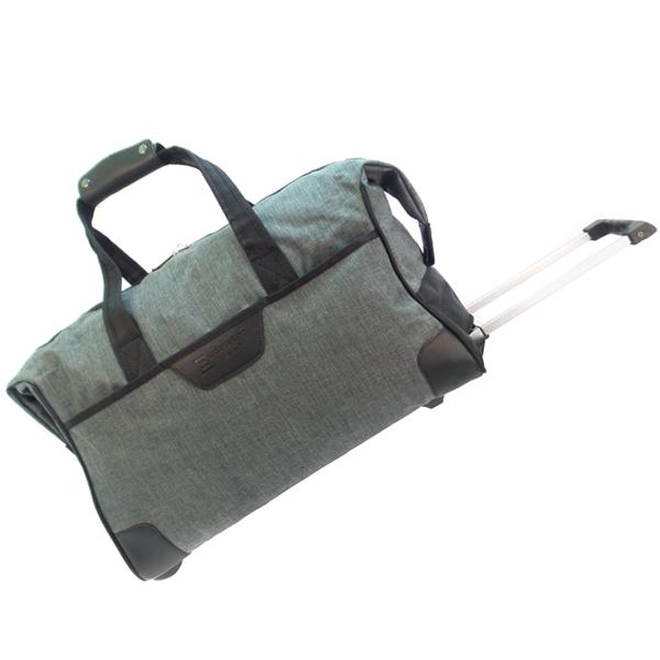 Дорожная сумка на колесах. 30204 d.grey