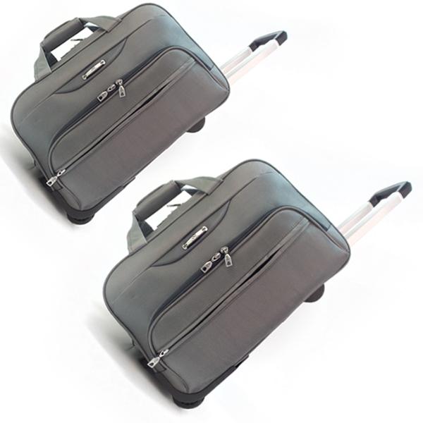 Комплект дорожных сумок Borgo Antico на колесах. 360 nabor grey (19/22)