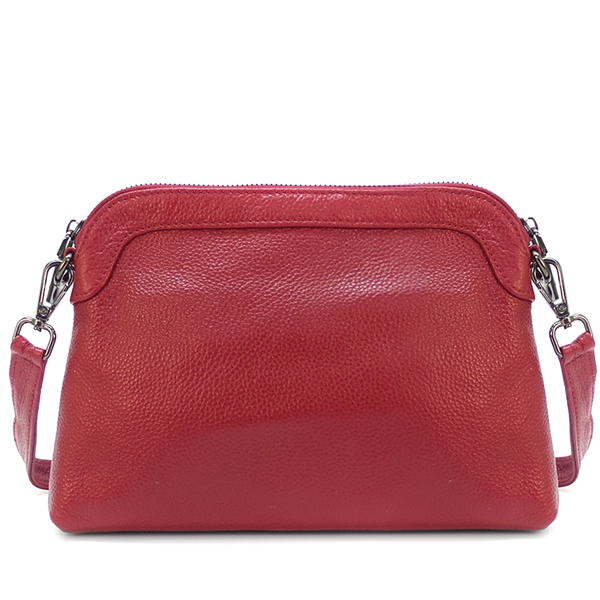 Женская сумка Borgo Antico. Кожа. 028 cranberry