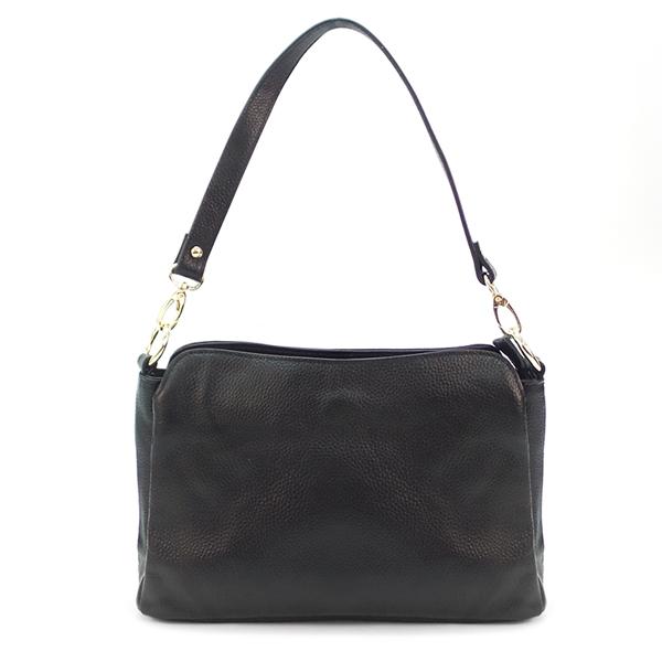 Женская сумка Borgo Antico. Кожа. 0778 black