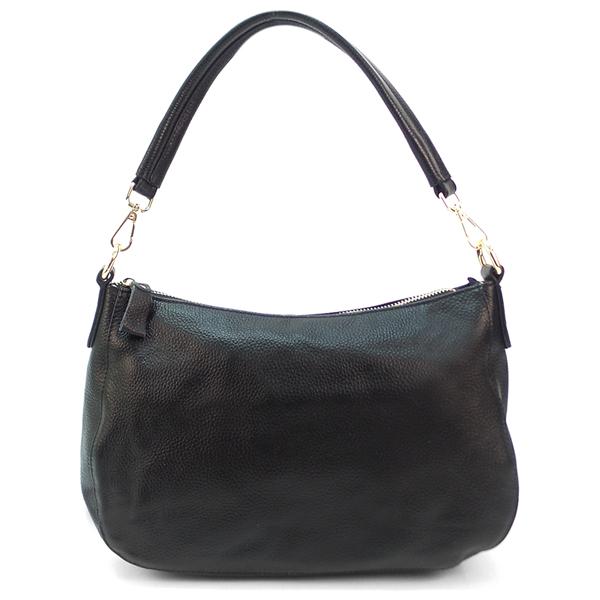 Женская сумка Borgo Antico. Кожа. 0814 black