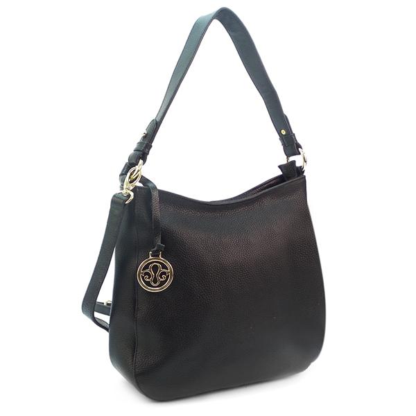 Женская сумка Borgo Antico. Кожа. 0823 black
