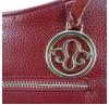 Женская сумка Borgo Antico. Кожа. 0823 bordeaux