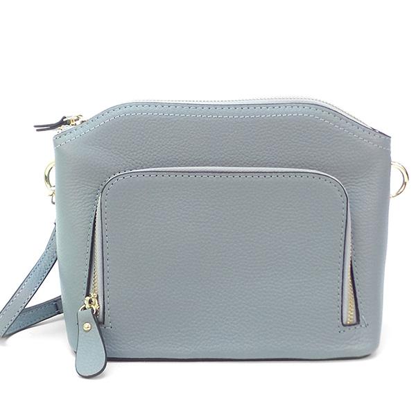 Женская сумка Borgo Antico. Кожа. 1088 light blue