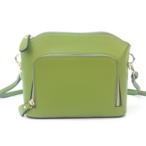 Женская сумка Borgo Antico. Кожа. 1088 light green