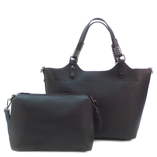 2 в 1. Женская сумка Borgo Antico. 1801 black