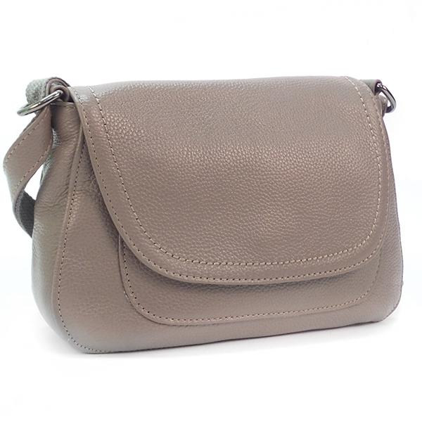Женская сумка Borgo Antico. Кожа. 2038 grey