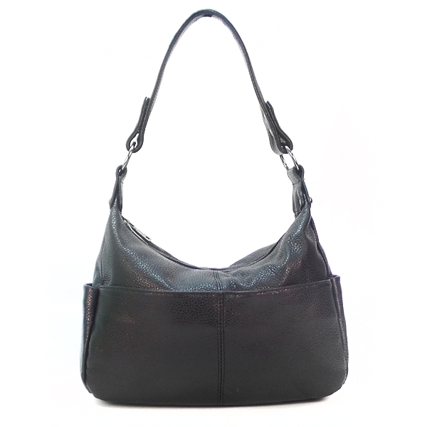 Женская сумка Borgo Antico. Кожа. 2085 black