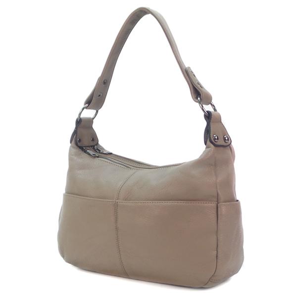Женская сумка Borgo Antico. Кожа. 2085 khaki