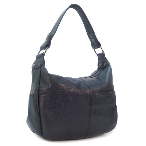 Женская сумка Borgo Antico. Кожа. 2085 navy