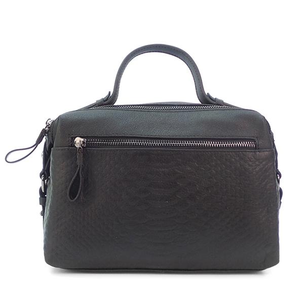 Женская сумка Borgo Antico. Кожа. 2356 black