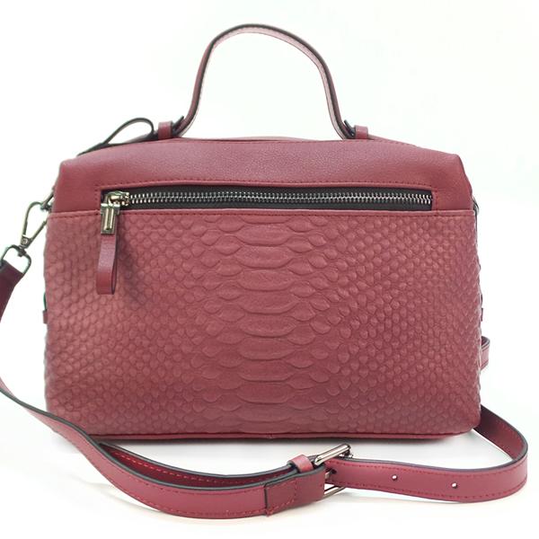 Женская сумка Borgo Antico. Кожа. 2356 wine red