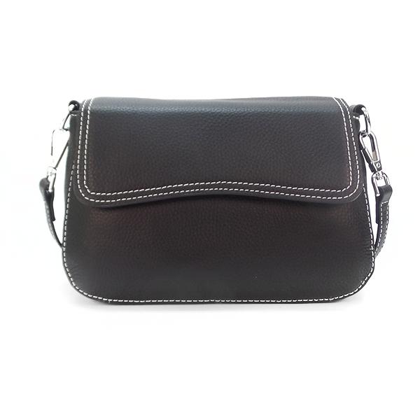 Женская сумка Borgo Antico. Кожа. 3016 black