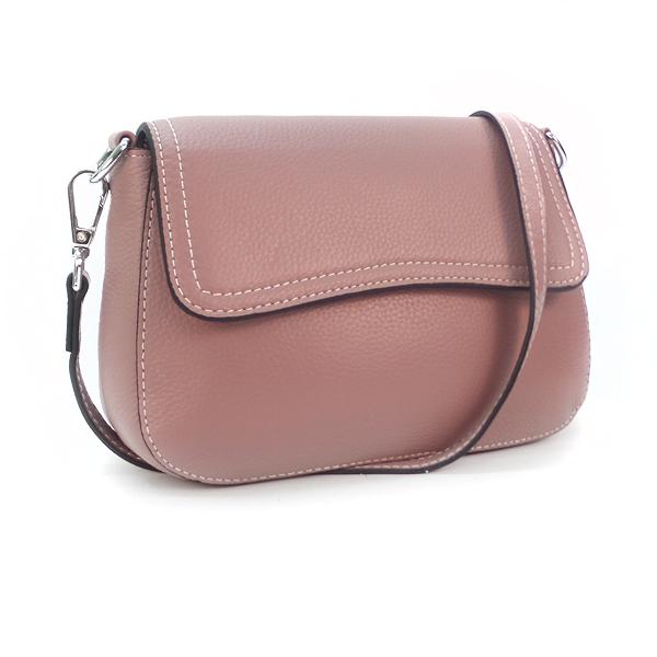 Женская сумка Borgo Antico. Кожа. 3016 pink