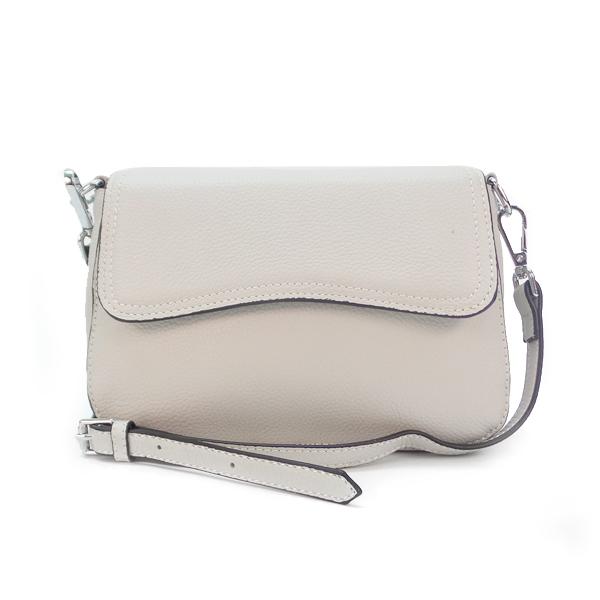 Женская сумка Borgo Antico. Кожа. 3016 pearl white