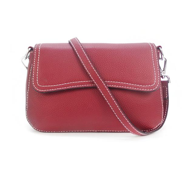 Женская сумка Borgo Antico. Кожа. 3016 wine red