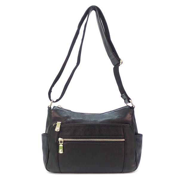 Женская сумка Borgo Antico. Кожа. 351 black