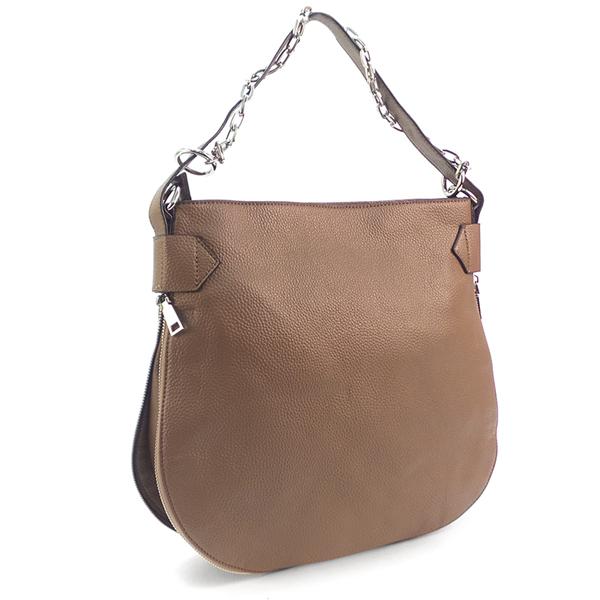 СКИДКА. Женская сумка Borgo Antico. 3931 apricot