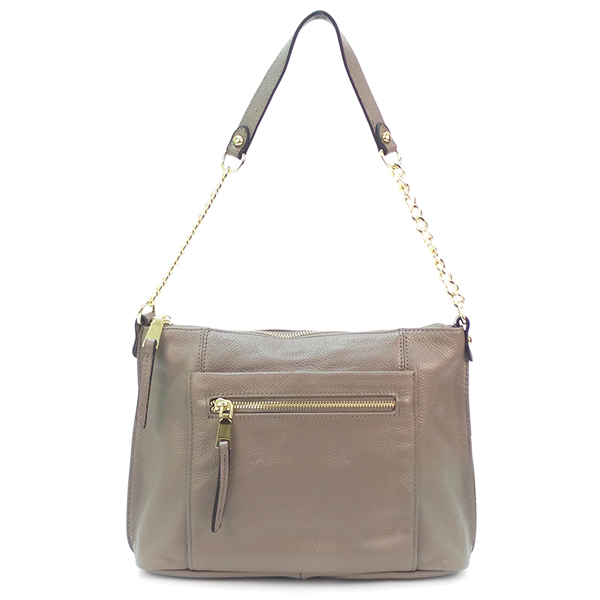Женская сумка Borgo Antico. Кожа. 5061 grey