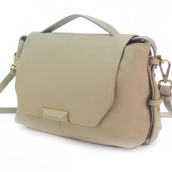 Женская сумка Borgo Antico. Кожа. 531 beige