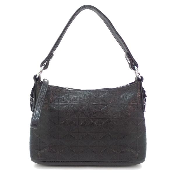 Женская сумка Borgo Antico. Кожа. 5321 black