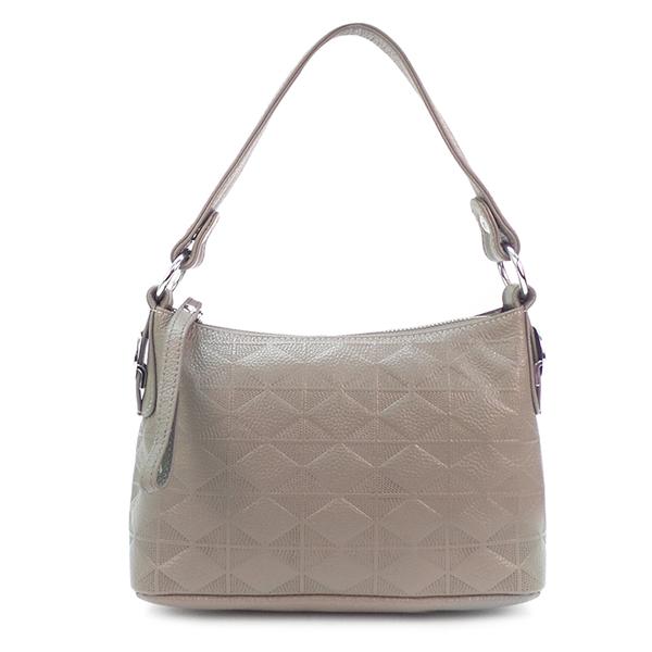 Женская сумка Borgo Antico. Кожа. 5321 grey