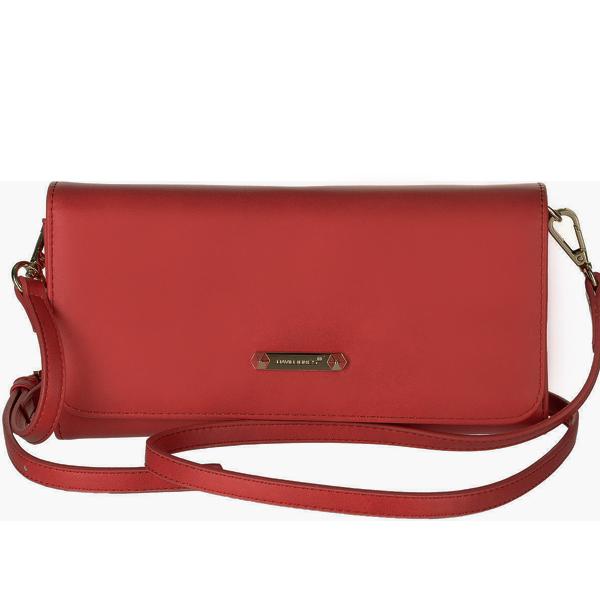 СКИДКА. Женская сумка David Jones. 5504 B-1 red
