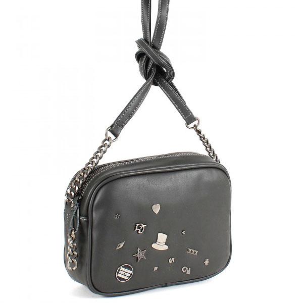 СКИДКА. Женская сумка David Jones. 5642-1 d.grey