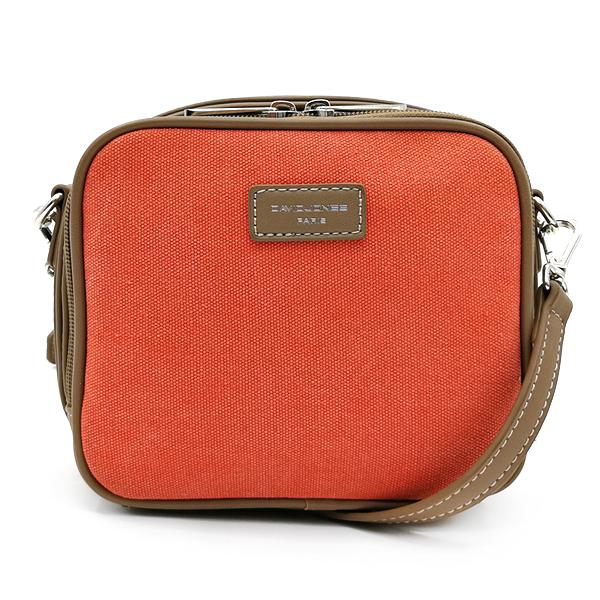 Женская сумка David Jones. 5758-1 orange-camel