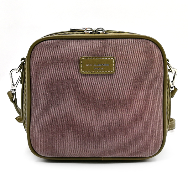Женская сумка David Jones. 5758-1 purple-khaki