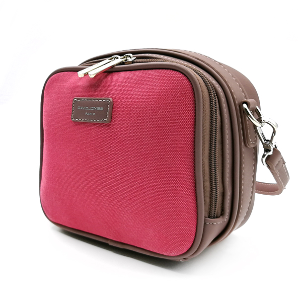 Женская сумка David Jones. 5758-1 rose red-d.pink