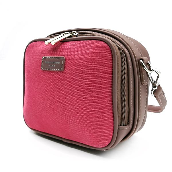 Женская сумка David Jones. 5758-1 rose red-d.pink