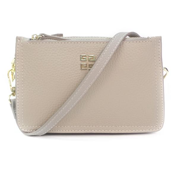 Женская сумка Borgo Antico. Кожа. 6171 oyster grey