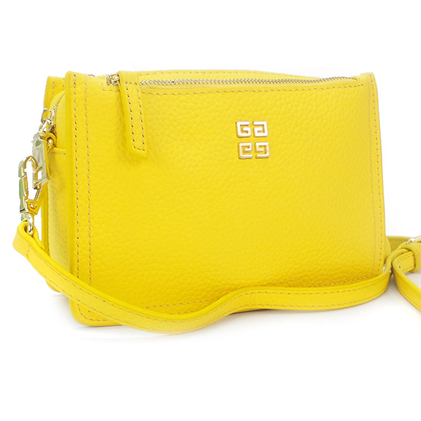 Женская сумка Borgo Antico. Кожа. 6171 pumpkin yellow