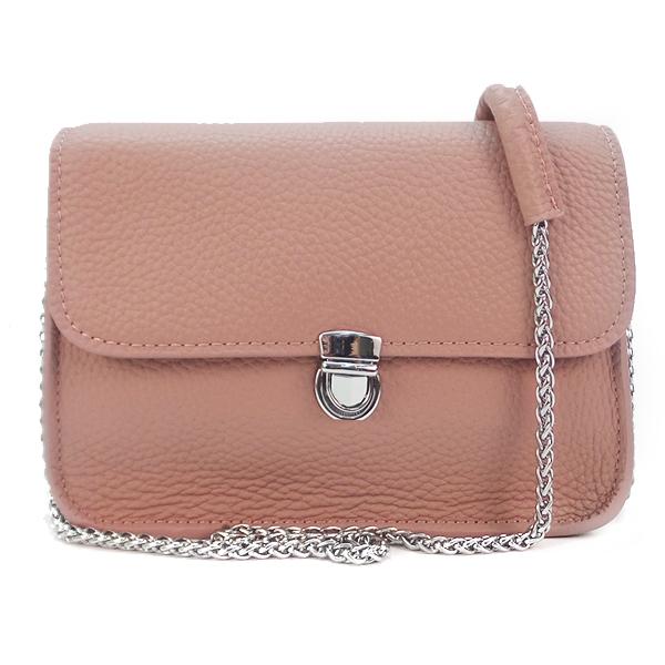 Женская сумка Borgo Antico. Кожа. 6201/6021 pink
