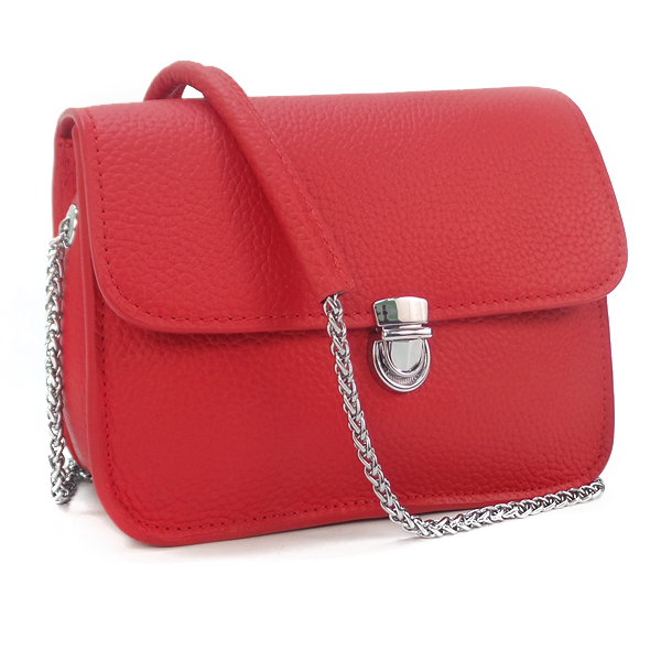 Женская сумка Borgo Antico. Кожа. 6201/6021 red