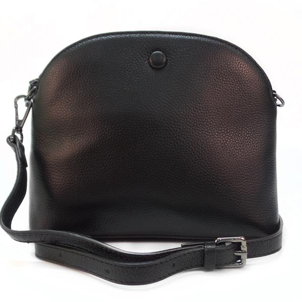 Женская сумка Borgo Antico. Кожа. 6601 black