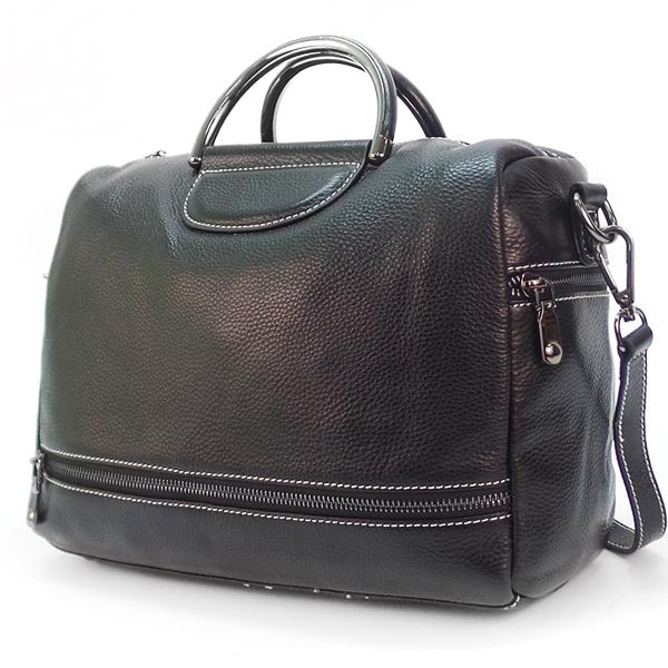 Женская сумка Borgo Antico. Кожа. 66609 black