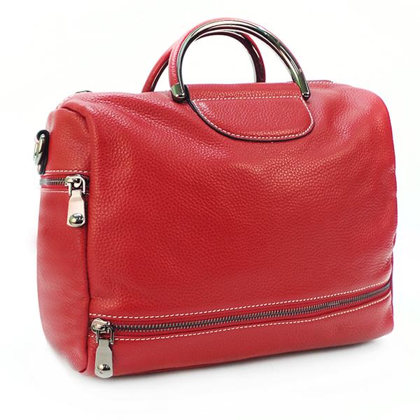 Женская сумка Borgo Antico. Кожа. 66609 wine red