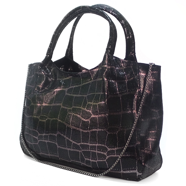 Женская сумка Borgo Antico. Кожа. 6913 black