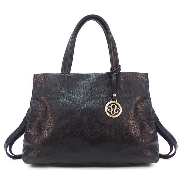 Женская сумка Borgo Antico. Кожа. 7118 black