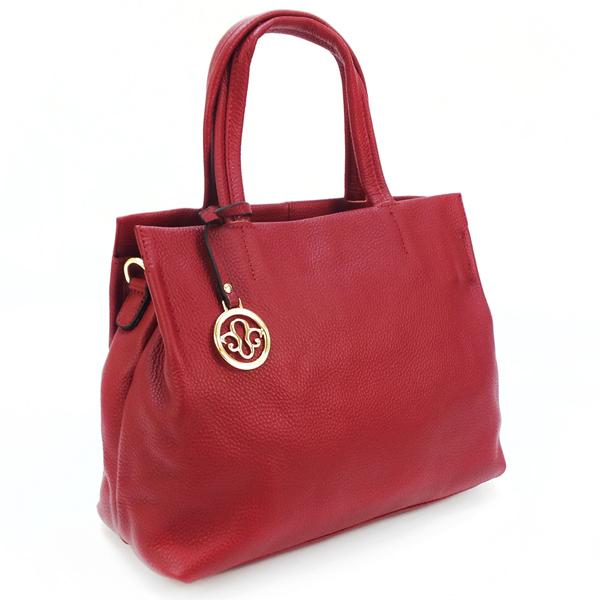 Женская сумка Borgo Antico. Кожа. 7118 wine red